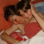 Kangaroo Mother Care - skin to skin breastfeeding after a homebirth