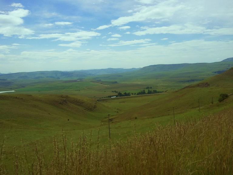 Valley in Kwazulunatal