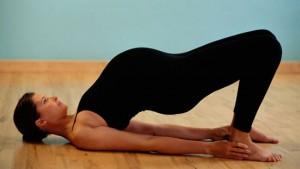 Yoga helps build strength and flexibility during pregnancy