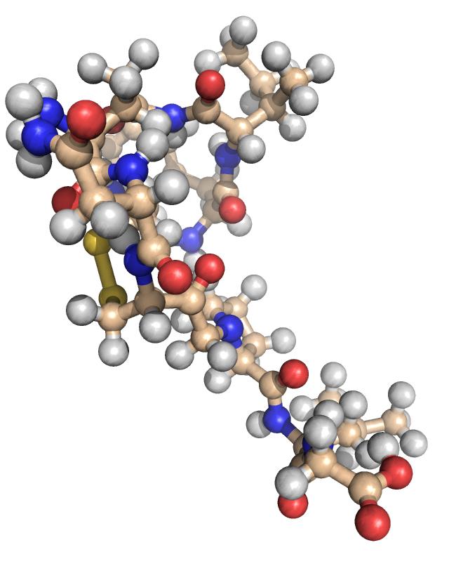 Oxytocin Molecule Oxytocin vs Adrenaline...