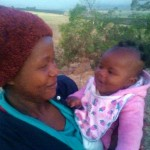 Mutual responsiveness between Thokozile and her baby