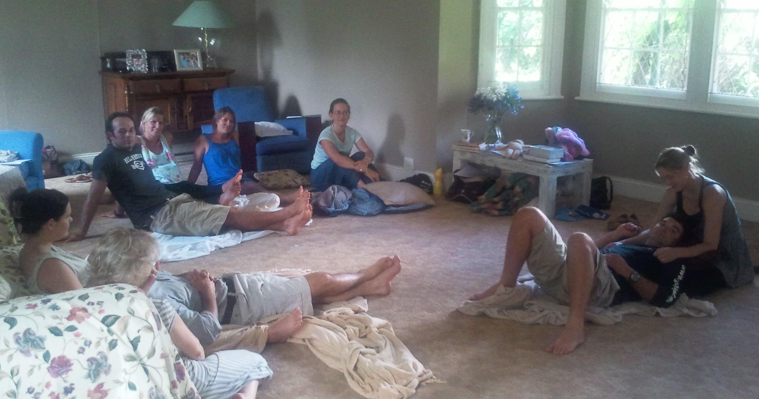 Natural Birth Workshop Circle