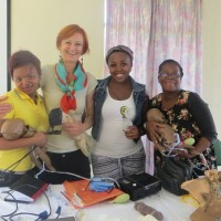 Happy Midwives after Shoulder Dystocia and Helping Babies Breathe Workshop