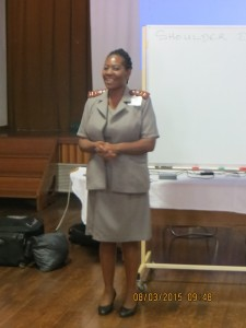 Matron Patricia Dlamini leading the way