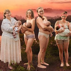 Wild Breastfeeding Mothers